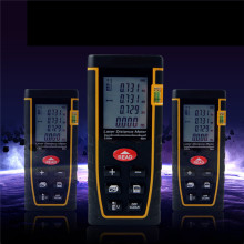Sndway Laser Distance Meter SW-T40 Laser Distance Meter 40m High Accuracy Area/Volume Laser Measuring Device Laser Meter 40m nf 188 gps land meter for area length trajectory measuring flat slope