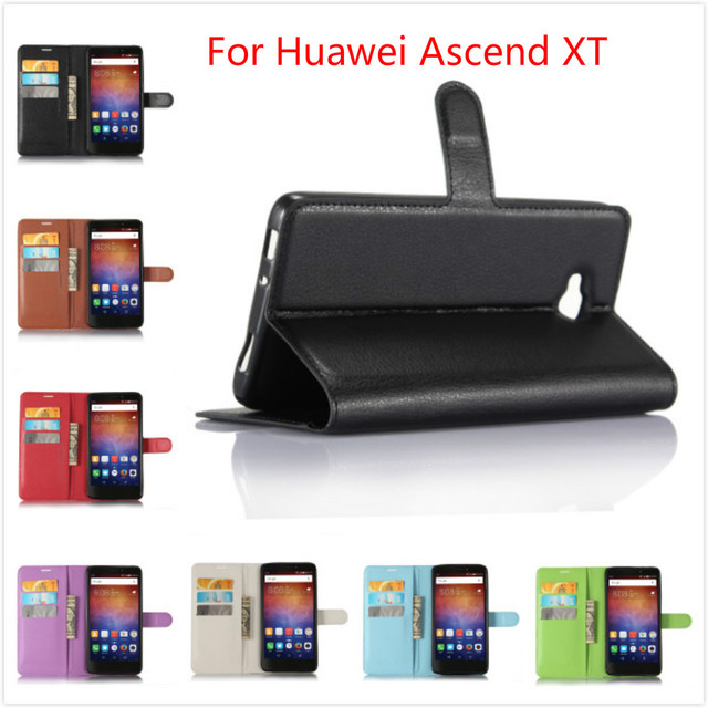 PU Leather case for Huawei Ascend XT Wallet With Card Holder Stand case Vintage Cover Case for Huawei Ascend XT H1611 6.0 Inch