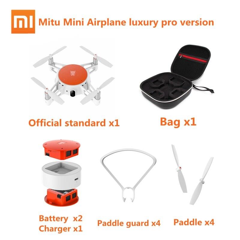 Original Xiaomi Mitu Mini Airplane Smart Remote Control Aircraft Drone 5GHz Wifi HD FPV 720P Vedio Phone App Control