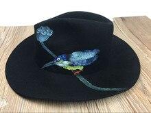 Mode chapeaux femmes hiver laine animal  ...