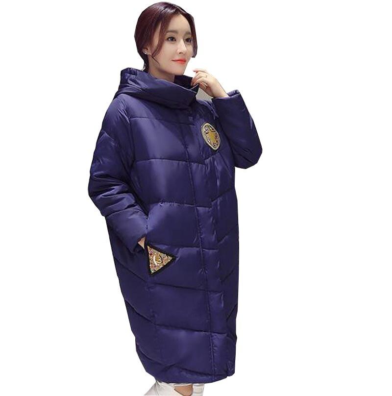 nueva ropa de moda más el tamaño de espesor caliente chaquetas de invierno capu