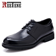 High Quality Wedding Shoes Men,Genuine Leather Flats Shoes Men,2016 New Dress Oxfords Shoes Men Lace-Up Business Derby Shoes Men