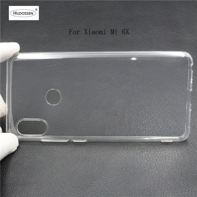 wholesale dealer d3a94 62648 US $1.27 36% OFF|HUDOSSEN For Xiaomi Mi A2 Case Silicone Ultra thin  Transparent Soft TPU Slim Case Fundas For Mi 6X Protective Phone Bag  Cover-in ...