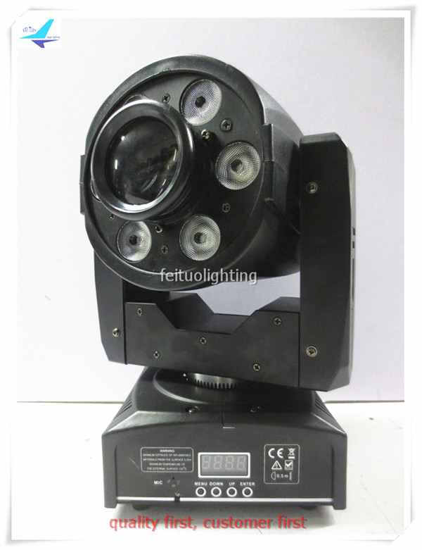 free shipping LED Mini Moving Head Light 30W Spot +6x8w Wash RGBW 4IN1 Gobos Stage Lumiere Lyre LED Show Party DJ Lighting free shipping hot sale mini led moving head wash light rgbw quad dj lighting