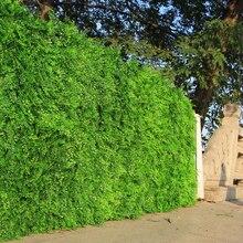 """Открытый искусственный Самшит плюща хедж забор на стену 1"""" X 10"""" УФ-защита травы коврики пластиковые растения для украшения сада в помещении"""