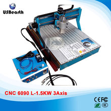 No Tax for EU LY 6090 3Axis 1 5KW CNC Machinery Wood Router