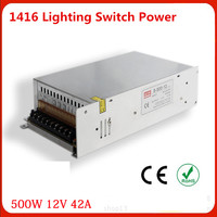 Manufacturers Selling Output 500W 12V Switch Power S 500W 12v LED Drive High Power Instrumentation DC