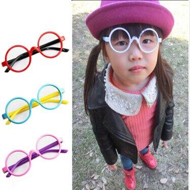 0dfeb2680aa 2015 round cute glasses frames Children boys girls spectacle frames  eyeglasses frame kids glasses mix colors