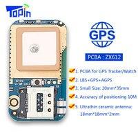 Hot ZX612 Mini GPS Nascosto Inseguitore Posizionatore Locator SOS Allarme Web APP Inseguimento Ad Alta Integrazione PCBA per I Bambini dei Capretti Animali Domestici auto