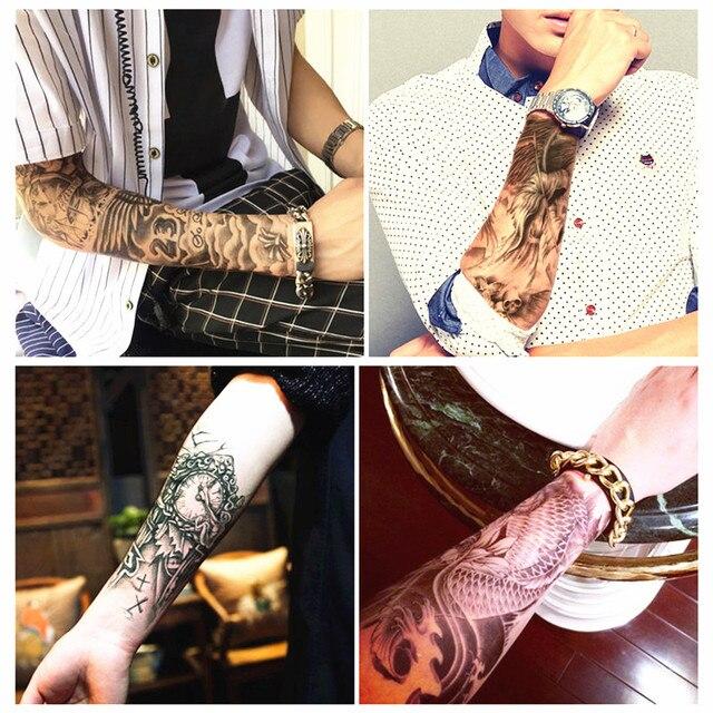 Veamor Temporary Tattoo Henna Design 4pcs Waterproof Tattoo Sticker
