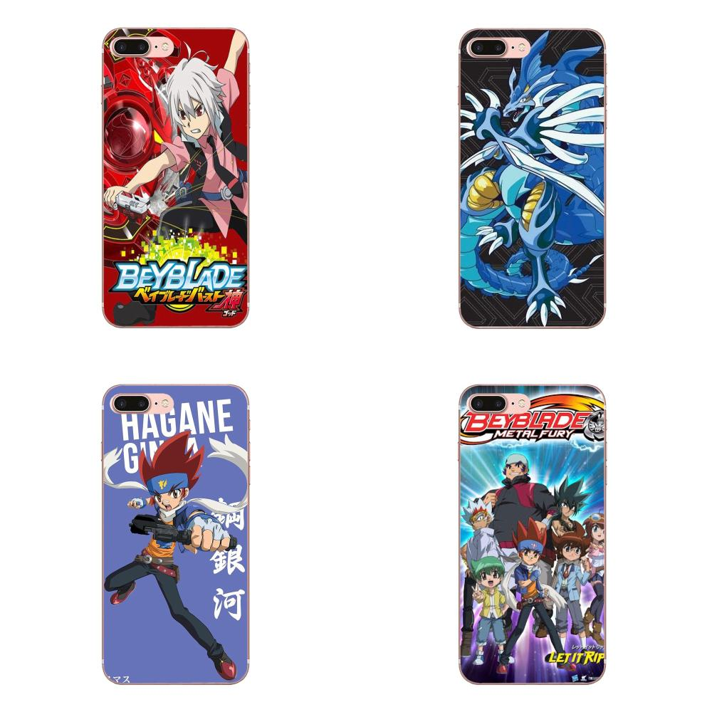 Diy Colorful Printing TPU For Galaxy A3 A5 A7 A8 A9 A9S On5 On7 Plus Pro Star 2015 2016 2017 2018 Classic Cartoon Movie Beyblade image
