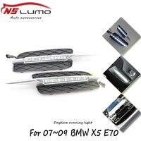 Ultra Thin 9W Cree Chip New Update LED Daytime Running Light LED E70 DRL Fog Car