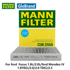 MANNFILTER Carbon car Cabin Filter CUK2559 for ford Focus 1.8L 2.0L ford Mondeo IV 1.8TDCi 2.0 2.0 TDCi 2.5 auto parts