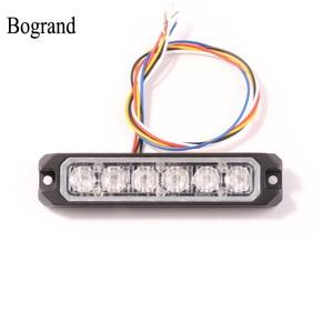 Image 1 - بوجراند رقيقة جدا Led فلاش ضوء إحترافي مقاوم للماء Ip65 ضوء وماض 24 فولت الإسعاف أضواء الطوارئ 18 واط