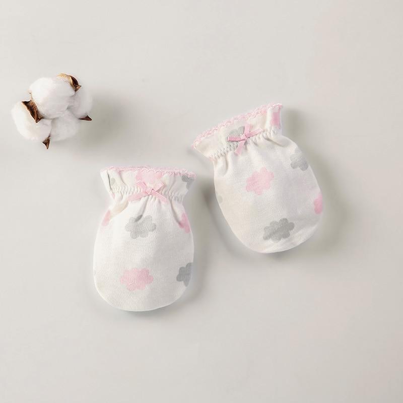 Зима осень хлопок детские перчатки неонатальные перчатки удобные дышащие детские перчатки новорожденная детская рукавица