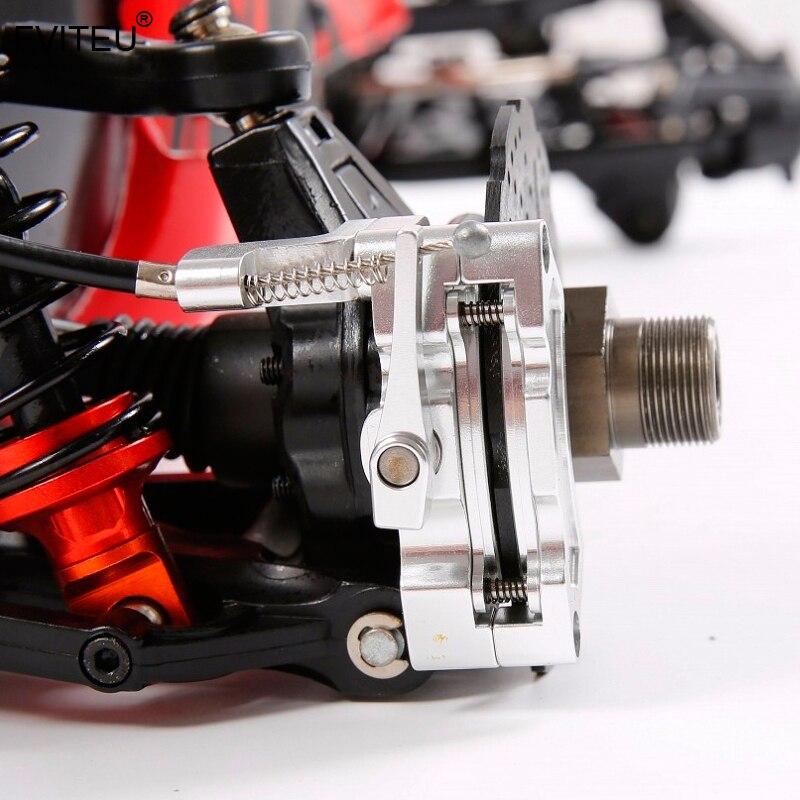 FVITEU металлические задние колеса провода тормозной кабель тормоза набор для 1/5 hpi rovan baja 5b SS 5sc king двигатель - 5