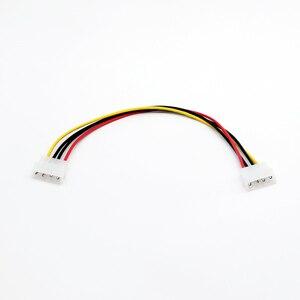 Image 3 - 20x4 핀 lp4 molex male 4 핀 male 플러그 전원 연장 어댑터 커넥터 케이블 30 cm/1ft