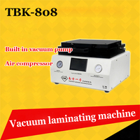 TBK 808 LCD Touch Screen Repair Automatic Bubble Removing Machine OCA Vacuum Laminating Machine with automatic lock gas