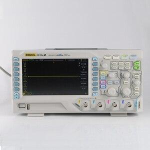 Image 1 - Orijinal Rigol DS1054Z Unlocked 4 kanal 50Mhz bant genişliği 12Mpts bellek dijital osiloskop, 4 seçenekleri ücretsiz, marka yeni