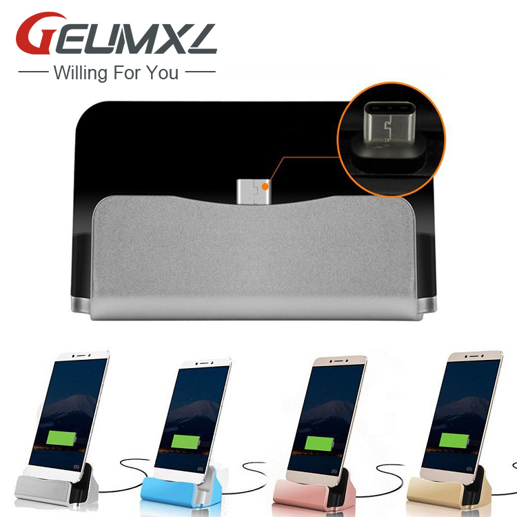 GEUMXL USB Type C Sync Charge Dock <font><b>Charger</b></font> Adapter for <font><b>Samsung</b></font> <font><b>Galaxy</b></font> Tab S3 A320 A520 A720 ( A3 A5 <font><b>A7</b></font> 2017 ) C7 Pro image