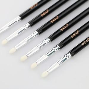 Image 5 - BEILI Smoky Eye Shadow matita per occhi piccola tonalità pelo di capra naturale manico nero pennello per trucco singolo