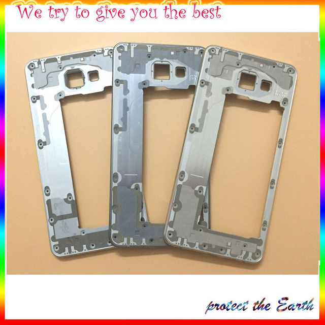 Original New Middle Bezel Frame Rear Housing Cover For Samsung Galaxy A7 2016 A7100 Replacement Parts