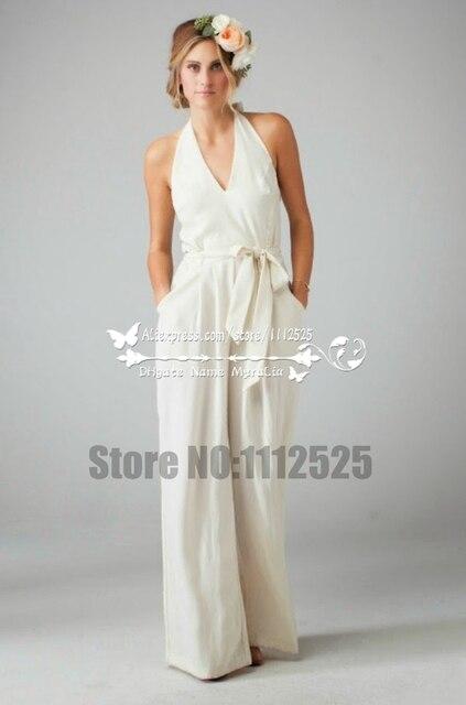 58bea14a2a44 AWP 1072 bella chiffon tuta abito da sposa sposa pantaloni in AWP ...