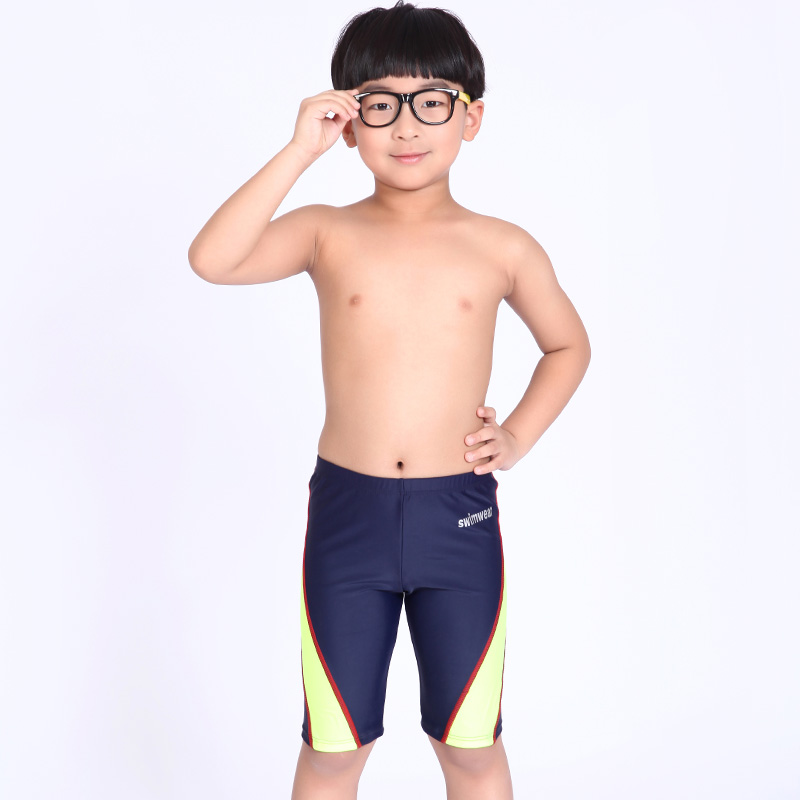 Free Shopping Boys Swimming Trunks Children Swimwear Briefs Patchwork Summer Kids Swimsuit Boy Bathing Suit For 4-13 Years Old