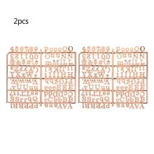 Персонажи для войлока доска для писем 250 шт. цифры доска буквы для сменной доска для писем