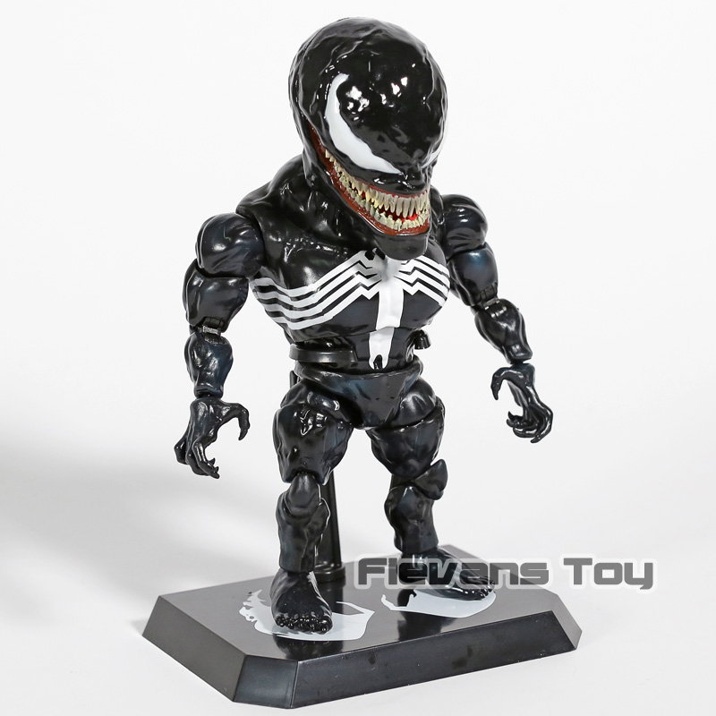 "Image 4 - Egg Attack Marvel Venom Edward Eddie Brock 7"" PVC Action Figure Collectible Model ToyAction & Toy Figures   -"