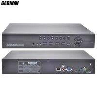 GADINAN FULL HD CCTV NVR 32CH 1080P ONVIF HI3535 Surveillance Recorder 16CH 4MP NVR Motion Detect FTP Wifi Function 3SATA Ports