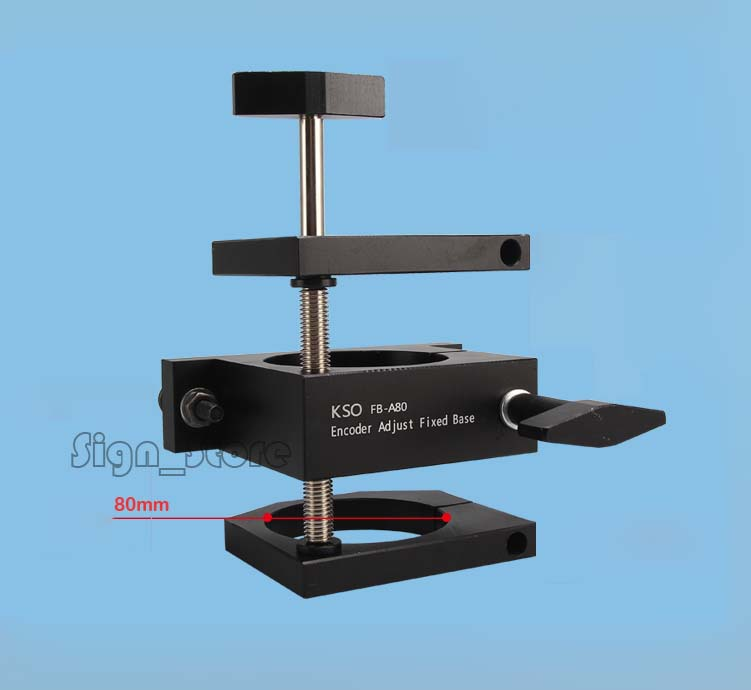 Diameter 80mm Adjustable 1 5 2 2KW Water Air Cooled Spindle Motor Mount Holder Clamp for