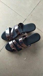Image 5 - GKTINOO sandalias deslizantes para mujer, zapatos de tacón alto grueso, con plataforma, para verano, 2020