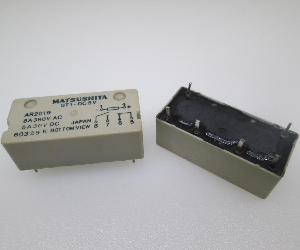 NEW relay ST1-DC5V 5VDC ST1-DC5V-F 5VDC ST1-DC5V-5vdc ST1-DC5V-F-5VDC 5VDC DC5V 5V 8A 380VAC 6PIN hot new relay hf6 73 5v hf6 relays 5v 5vdc dc5v 5v sop 2pcs lot