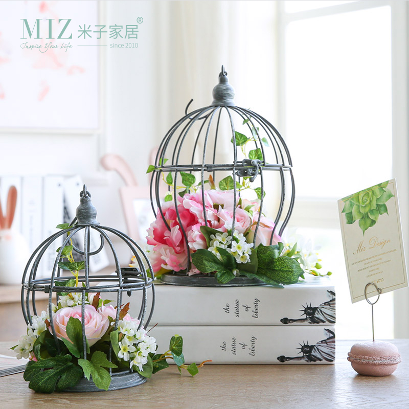 miz 1 piece artificial flower home garden decoration accessories artificial plants hanging. Black Bedroom Furniture Sets. Home Design Ideas