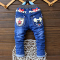 2016 Spring/autumn Fashion Kids Girls Baby Boys Jeans Children Trouser For Boys Casual Denim Pants 2-6Y Toddler Boys Clothes