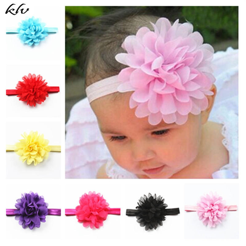 10Pcs Kids Baby Girl Toddler Flower Hair Band Headwear Headband For Girls Cute Lovely Baby Accessories