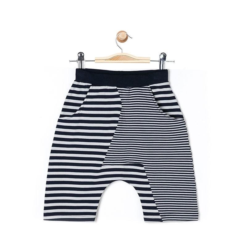 בני מותג ילדי פסי מכנסיים תחתון 2018 אביב מכנסיים כותנה מקרית מכנסיים בייבי לפעוטות בני מכנסיים מכנסיים קצרים מכנסיים קצרים לילדים