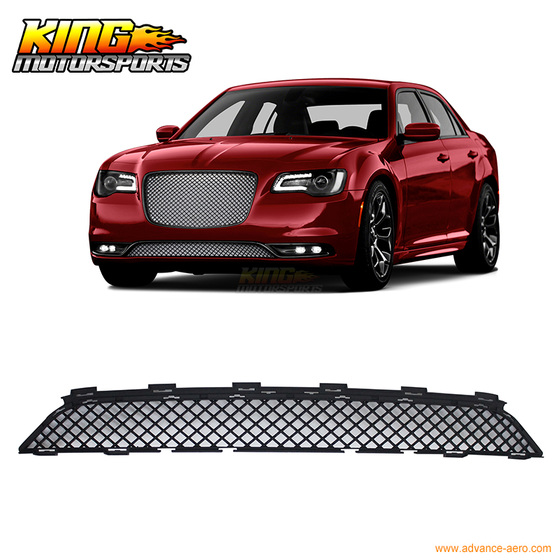 For 15-17 Chrysler 300 300C Bentley Style Front Lower Grill Grille - Black USA Domestic Free Shipping цена 2017