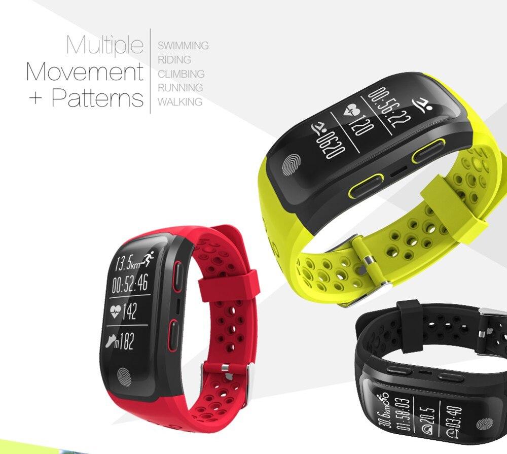 472f015b2a1 2018 Smart Bracelet IP68 Waterproof Watch S908 GPS Smart WatcHeart ...