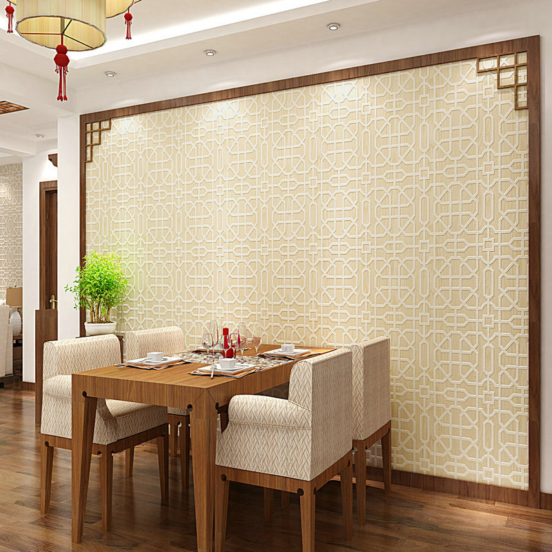 Chinese Style Classical  Living Room Bedroom  Dining-room Sofa TV Background Wall Paper Home Decor