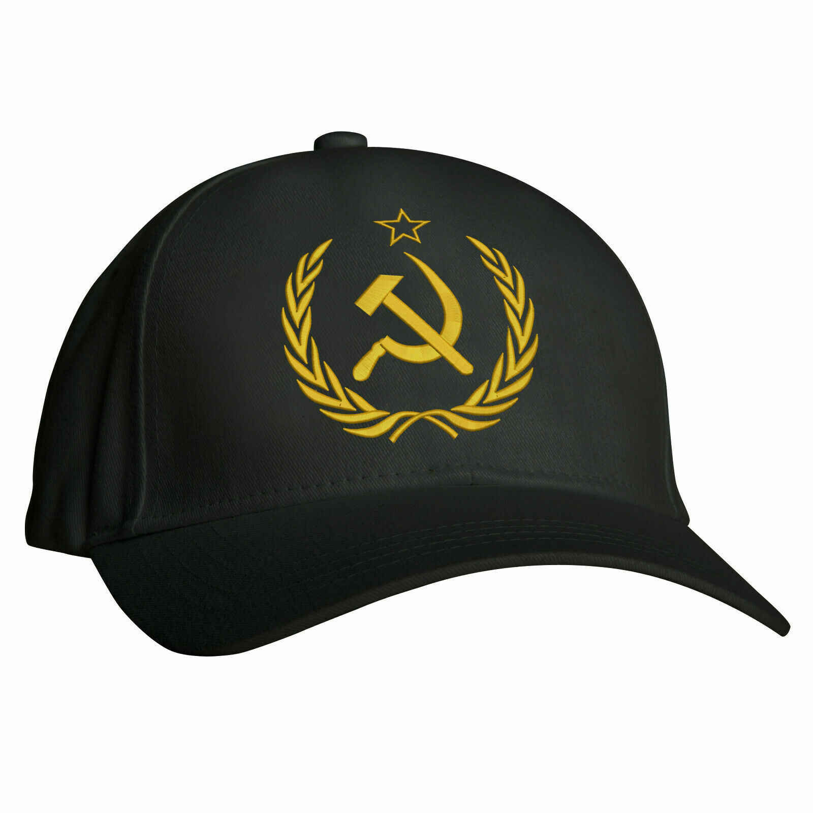 Ussr Logo Embroidered Baseball, Soviet CCCP Russia Vintage Workwear Hat