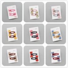 2Pcs/lot Wild Hairpin Korean version of the mini BB clip children's accessories baby hair clip bangs folder