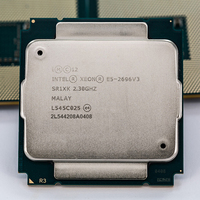 INTEL XEON E5 2696v3 E5 2699v3 SR1XK 18 CORE 2 3GHz LGA2011 3 Processor CPU