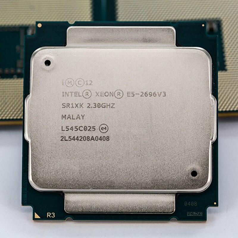 INTEL XEON E5-2696v3/E5 2696v3 SR1XK 18 COEURS 2.3 GHz mieux que E5 2683 V3 LGA2011-3 Processeur CPU