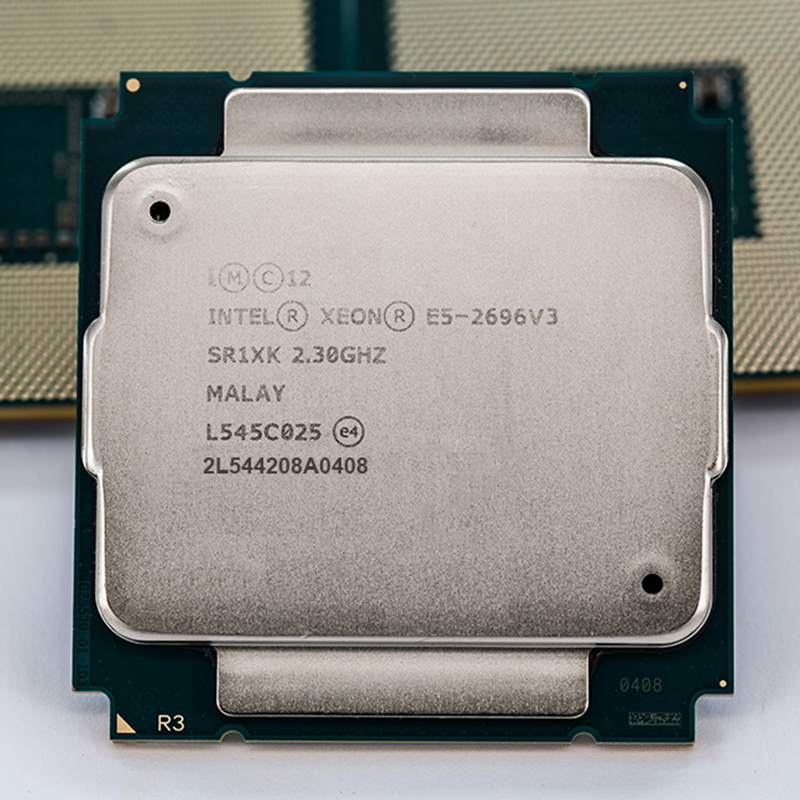 INTEL <font><b>XEON</b></font> <font><b>E5</b></font>-2696v3 / <font><b>E5</b></font> 2696v3 SR1XK 18-CORE 2.3GHz better than <font><b>E5</b></font> 2683 <font><b>V3</b></font> LGA2011-3 Processor CPU image
