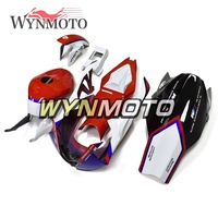 Complete Racing Fiberglass Injection Fairings Kit For BMW S1000RR Year 15 16 Cowlings White Red Blue New Bodywork Hulls