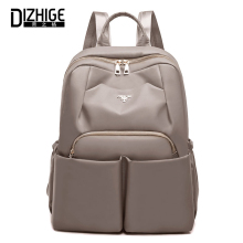 DIZHIGE Brand Fashion Waterproof Oxford Women Backpack High Quality School Bag For Casual Large Capacity Multi-pocket Bags
