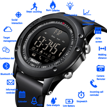 LIGE New Smart Watch Sport Pedometer Waterproof IP68 Bluetooth Men Digital Clock Call Reminder SmartWatch For ios Android Phone clock ogeda smart men watch ex28 waterproof bluetooth wristwatch sport pedometer stopwatch call sms reminder for ios android