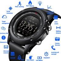 LIGE New Smart Watch Sport Pedometer Waterproof IP68 Bluetooth Men Digital Clock Call Reminder SmartWatch For ios Android Phone
